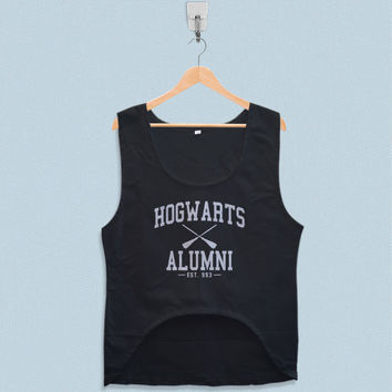 Women's Crop Tank - Hogwarts Alumni Harry Potter