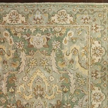 Thyme Persian-Style Rug   Pottery Barn