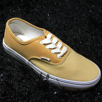 DCK7YE VANS OG AUTHENTIC LX Classic men & women casual shoes