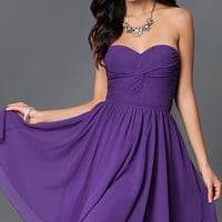 Champagne Ruched Plus-Size Party Dress with Corset