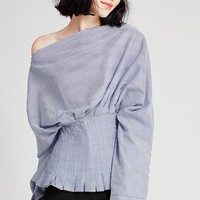 Kirsten Batwing Sleeve Top Discover the latest fashion trends online at storets.com
