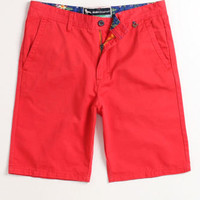 Modern Amusement Park Solid Short Mens