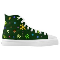 Stars and shells High-Top sneakers
