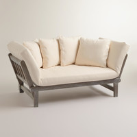 Graywash Studio Day Sofa - World Market