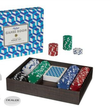 Texas Hold 'Em Poker Set | Marbles The Brain Store