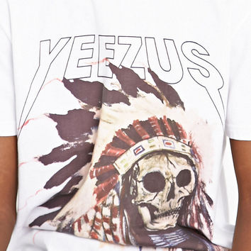 Yeezus Native Tee in White - Urban Outfitters
