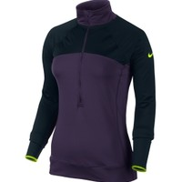 Nike Women's Hyperwarm Max Shield Half Zip Shirt