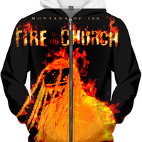 Montana Of 300 (Fire In The Church) Hoodie