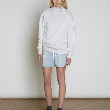 LATE NIGHT JUMPER light grey marle