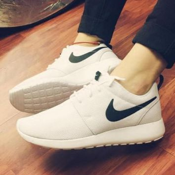 """NIKE"" Trending Fashion Casual Sports Shoes Contrast White shoe tongue hook"