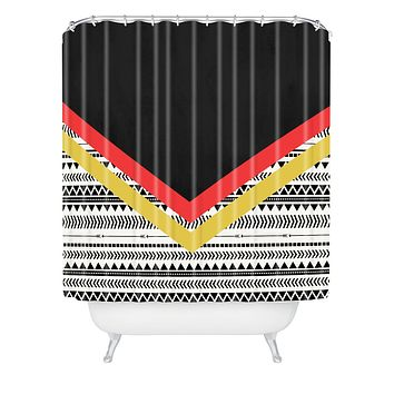 Allyson Johnson Mixed Aztec 2 Shower Curtain