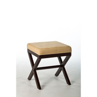 50964 Morgan Wood Vanity Stool