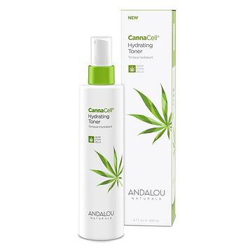 Andalou Naturals Hydrate Toner, Cannacell - 6.7 Fz