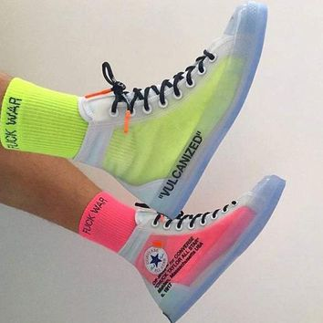 OFF White x Converse Chuck Taylor 1970s OW Sneakers Shoes