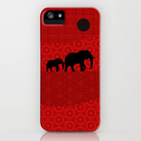 migration in eclipse iPhone & iPod Case by Viviana González