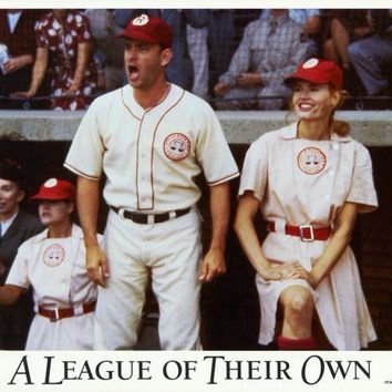 A League of Their Own 11x14 Movie Poster (1992)