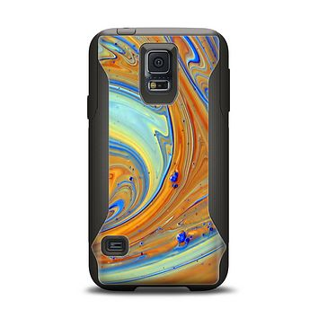 The Colorful Wet Paint Mixture Samsung Galaxy S5 Otterbox Commuter Case Skin Set