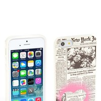 kate spade new york 'newspaper iPhone 5 & 5s case
