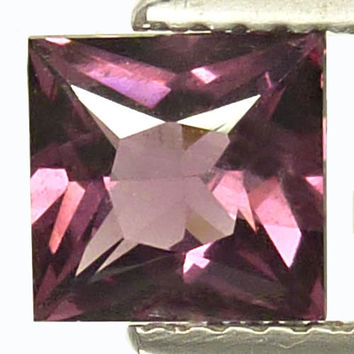 Princess Cut Purple Spinel Fine Loose Gemstone for Engagement Ring Anniversary Ring Morganite Alternative