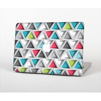 "The Vibrant Colored Triangled 3d Shapes Skin Set for the Apple MacBook Pro 13"" with Retina Display"
