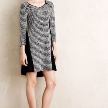Stripeknit Swing Dress by Maeve Black Motif