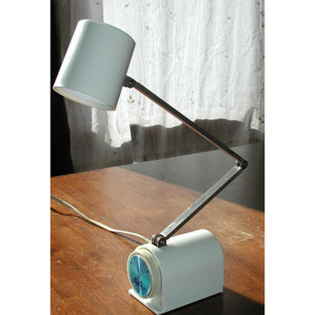 Cricket Desk Lamp Vintage Ever-Ready Adjustable Wall Light