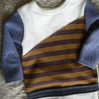 Baby Pants/ Shirt, Boy Clothes. (size 3-6mo) Two Piece Set- stretchy knit. lippy brand