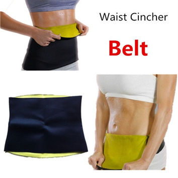 New Arrivals Body weight loss waist cincher body trainer tummy trimmer neoprene slimming Belt ceinture minceur hot shapers tv = 1930049540