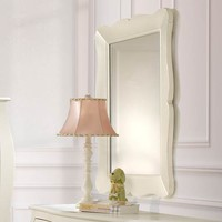 Allegra Collection Mirror in French White