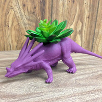 Up-cycled Mulberry Dinosaur Planter