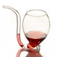 Geek Vampire Straw Glass Cup
