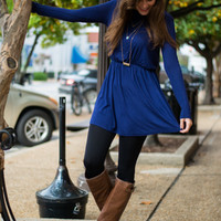 Heart Breaker Tunic, Navy