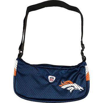 Denver Broncos NFL Team Jersey Purse Womens Handbag