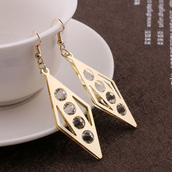 Luxury Ladies Simple Design Earring Earrings [4915585220]