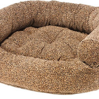 Bowsers Puma Microvelvet Double Donut Dog Bed
