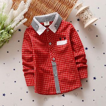 Boys Shirts 2-5y Toddler Sleeve