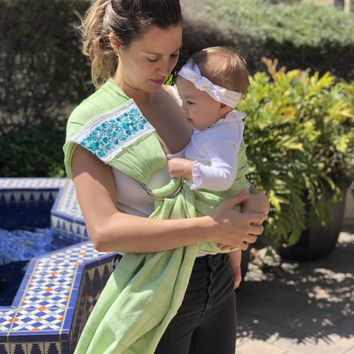 Unique Piece- Mexican Baby Ring Sling - Baby Mine