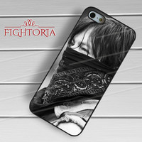 Daryl Dixon The Walking Dead - zzZzz for  iPhone 4/4S/5/5S/5C/6/6+s,Samsung S3/S4/S5/S6 Regular/S6 Edge,Samsung Note 3/4