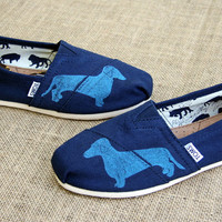 Dachshund Custom TOMS Shoes