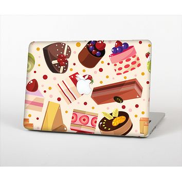 The Yummy Dessert Pattern Skin Set for the Apple MacBook Air 11""