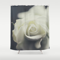 rose Shower Curtain by Ingrid Beddoes