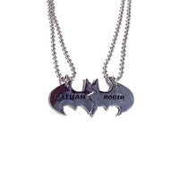 Superhero Besties Charm Necklace - Stainless Steel