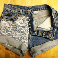 High Waisted Lace
