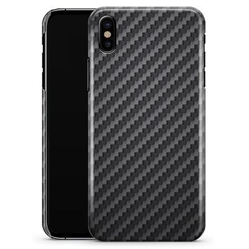 Carbon Fiber Texture - iPhone X Clipit Case
