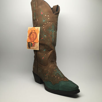 "Laredo Stitched Cross Cowgirl Boots ""52032"""