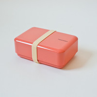 Takenaka Bento Box Rectangle Coral - Gift & Home