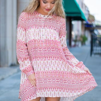 The India Dress, Pink