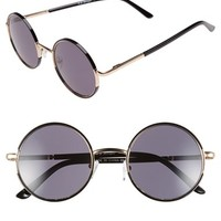 Women's A.J. Morgan 'Soul Child' 49mm Metal Sunglasses