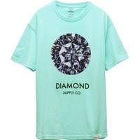 Diamond Supply Co Clarity T-Shirt - Mens Tee - Green