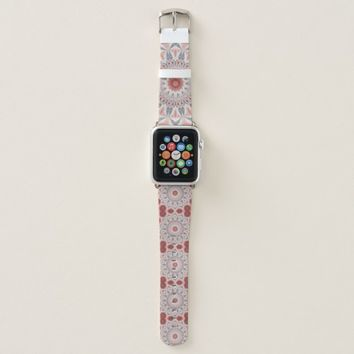 Modern Kaleidoscope Mandala Fractal Art Pattern Apple Watch Band